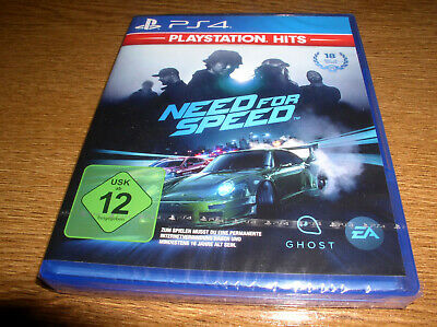 PS 4 Playstation Hits Need for Speed NEU u. OVP