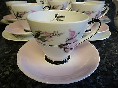 Vintage Windsor Bone China Tea Set with Trios. Wedding/Tea Party