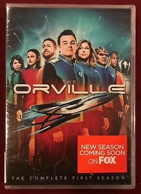 THE ORVILLE: The Complete First Season - 4-Disc DVD Set - Seth MacFarlane - NEW