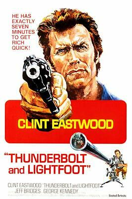 16mm Feature- Thunderbolt and Lightfoot-1974- Clint Eastwood- Jeff Bridges