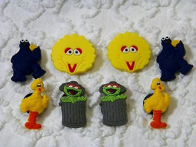 Croc Clog Sesame Street Plug Shoe Charms Will Fit Other Croc Styles C 468