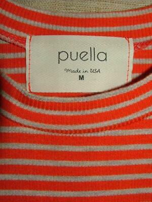 Puella Anthropologie rayon blend ribbed high neck tank top  Flowy & Fun! M Nice!