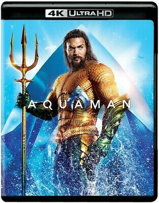 Aquaman [New 4K Ultra HD] With Blu-Ray, 4K Mastering, Digital Copy