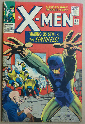 X-MEN #14, with 1st Appearance of 'THE SENTINELS', FN-
