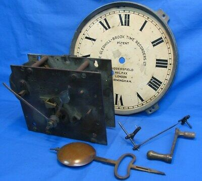Industrial clocking in clock GBTR turret parts chain fusee movement