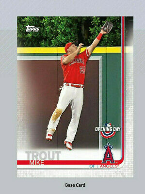 2019 Topps Opening Day Complete Baseball Base Set 200 Cards LIVE READY TO SHIP