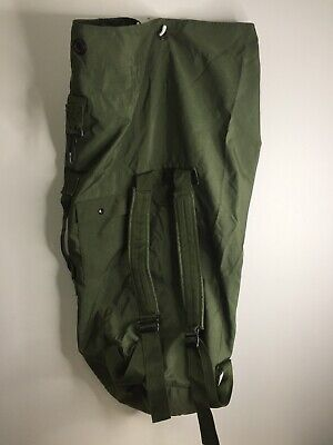 Excellent Genuine Us Military Sea Bag Duffel Od Green Top Load Army Duffle