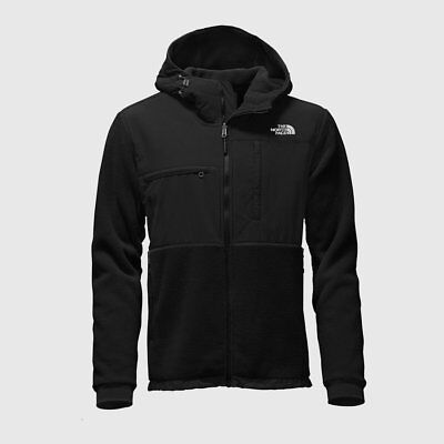 NWT The North Face Denali 2 Hooded Fleece Jacket Size Large TNF Black $199