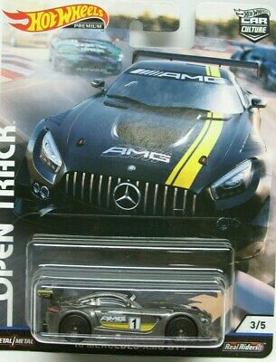 Hotwheels 2019 Car Culture Open Track 16 Mercedes Amg Gt3 Alloys Rubber Tyres