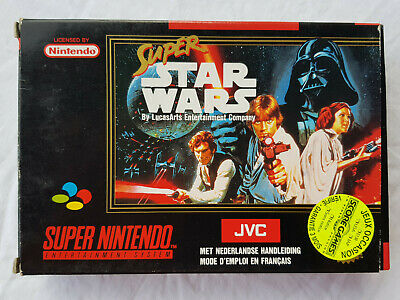 Super Star Wars - Super Nintendo (SNES)