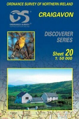 Craigavon (Discoverer Maps) by Ordnance Survey of Northern Ireland Sheet map The