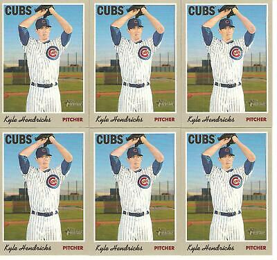 2019 Topps Heritage Kyle Hendricks Baseball Card Lot              120