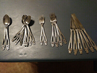 Used, National Silver CO. Antoinette 21PCS. RARE, HARD TO FIND