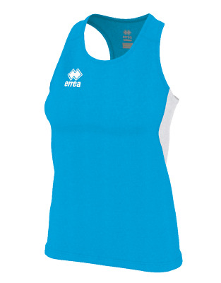 Camiseta de Triantes Running Mujer Smith Camiseta Ad - Cian Blanco