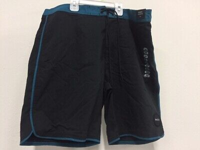 2facfb8f63 RVCA MEN'S EASTERN Stretch Performance Industry Board Shorts Size 30 ...