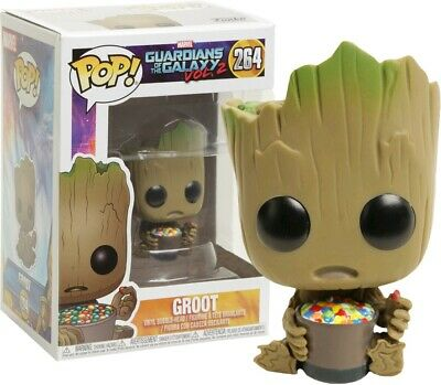Funko Pop! Guardians of the Galaxy Vol. 2 - Groot with Candy Bowl #264 Exclusive
