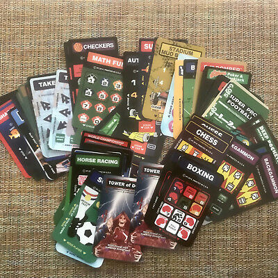 Set of 50 Overlays for Intellivision Flashback or Original Console > Brand New!