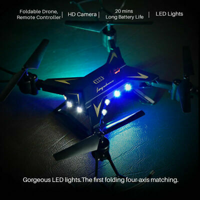 Foldable Drone KY601S FPV HD Camera Selfie 6Axis 2.4G 4CH RC Quadcopter WIFI Arm