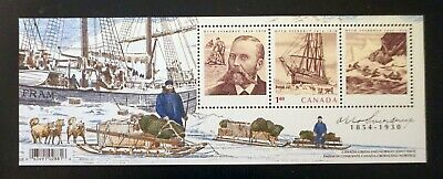 CANADA  Sc# 2027 OTTO SVENDRUP Souvenir Sheet w/ Norway Greenland 2004  MNH mint