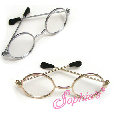 18 Inch Doll Glasses - Wire Rimmed Eyeglasses Sized for American Girl Dolls