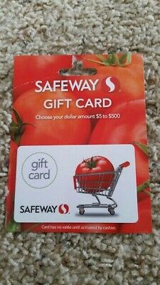 $100 Safeway Gift Card (FREE SHIPPING)