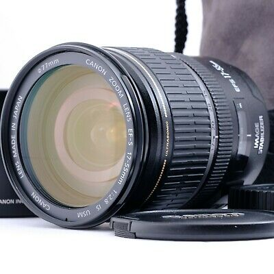 """""""Near Mint"""" Canon EF-S 17-55mm f/2.8 AF IS USM Lens Shipping from Japan"""