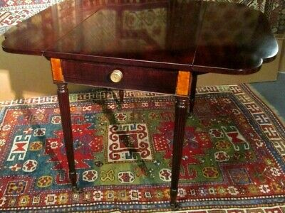 Duncan Phyfe American Federal Ny Circa 1810  Mahogany Pembroke Table Excellent