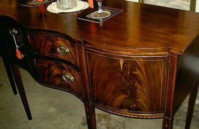 Henkel Harris Serpentine Sideboard Federal Style Going Out Of Business Sale !