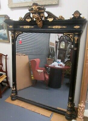A Fine Sale On This Antique American Renaissance Mirror W/Jenny Lind Bust
