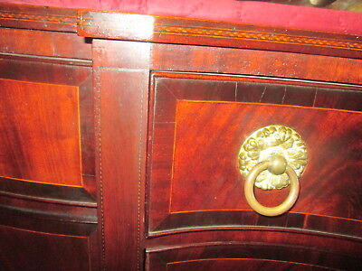 Antique American Federal Inlaid Mahogany Sideboard Early Surface Circa 1800