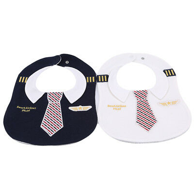 Tie Print Baby Toddler Girls Infant Adorable Soft Baby Kids Bib Saliva Towel B