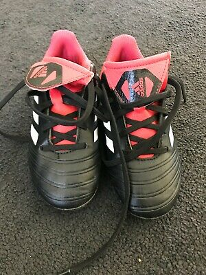 Adidas Football boots - Kids - US12K - Black/Red