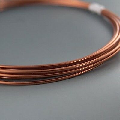 Artistic Wire Bare Copper 14 gauge 10 feet 41438 Round Shiny