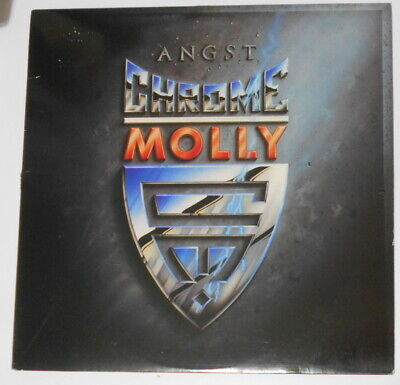 "Chrome Molly - Angst  - original promo U.S. 12"" LP vinyl"