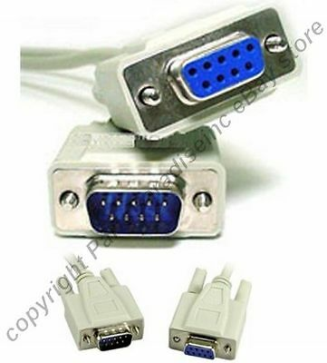 DB25 pin Male~M Null Modem Nul//Cross Serial RS232 cable gender changer Adapter{F
