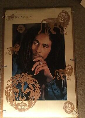 Bob Marley Vintage Poster.  On Sale Now For $10.00