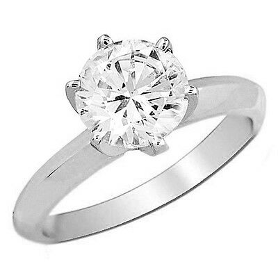 Gift Item! .25CT ROUND DIAMOND SOLITAIRE ENGAGEMENT RING SOLID GOLD