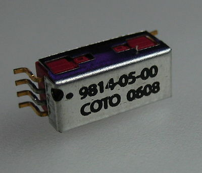 (Lot of 25) Coto Technology 9814-05-00 0622 SMD Reed Relay 1 Form A 5 VDC; Mag
