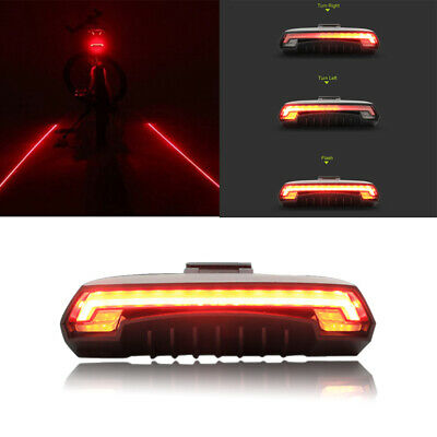 Meilan Bicycle Rear Light Bike Remote Wireless Light Turn Signal LED Beam B6T1