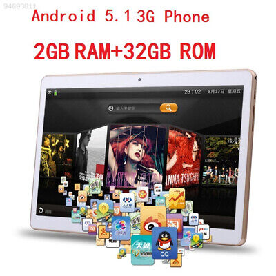 D3CB 10'' 3G 32GB Dual SIM Call Phone Android 5.1 Octa Core Tablet PC IPS WIFI