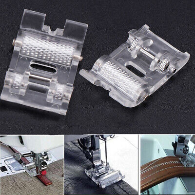 Low Shank Roller Presser Foot For Sewing Machine Feet Stitch Tool Home Supplies~
