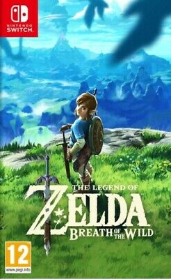 The Legend of Zelda: Breath of the Wild (Switch) VideoGames