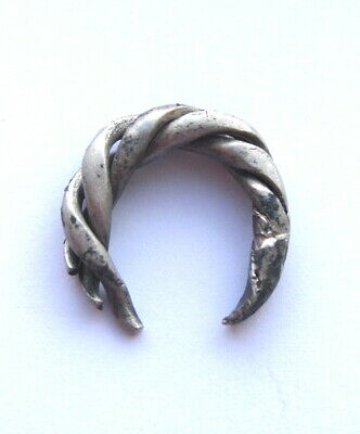Twisted silver ring Kievan Rus 12-13 AD