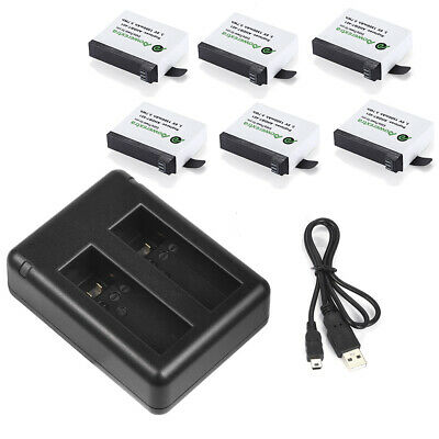 AHDBT-401 Battery For Gopro Gopro Hero 4 HD Black Silver Camera + USB Charger