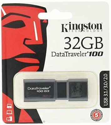 Clé USB 32 Go Kingston - Clef USB 3.1 32Gb - Kingston DT100 G3 Data Traveler