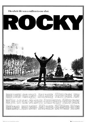 Rocky, Sylvester Stallone: C (1976) | US Import Filmposter 59 x 84 cm