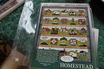 Anita Goodesign Embroidery Homestead Mix & Match Quilting Special Edition
