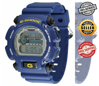 CASIO G-Shock DW-9052-2V DW-9052-2VDR Countdown Timer 200m Blue Watch