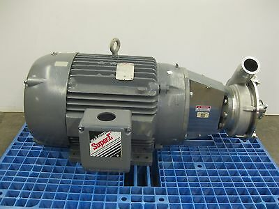FRISTAM FPX-732 SANITARY Centrifugal Pump with a 10HP motor