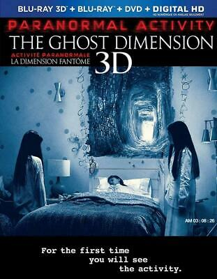 Paranormal Activity: The Ghost Dimension [Blu-ray 3D + Blu-ray + DVD]...